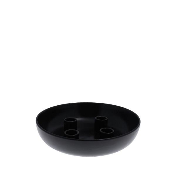 Storefactory Skandinavia, Granholmen - Glossy black candelstick