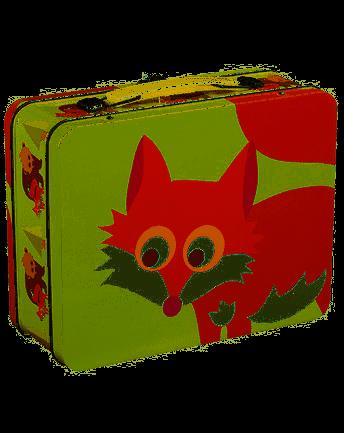 "BLA FRE ""Tin suitcase"" Fox, Light Green"