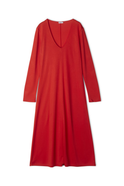 Filippa K - Rosaline Dress, Red Orange