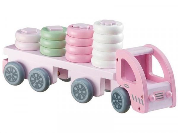 "Kids Concept ""Ringspiel Laster"" rosa"