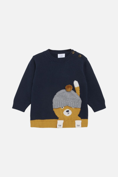 Hust & Claire, Pilou Pullover, Navy