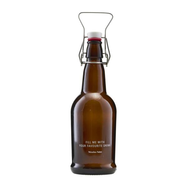Nicolas Vahé, Flasche mit Bügelverschluss, Brown