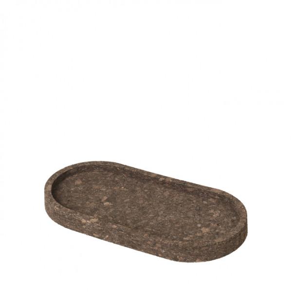 "Broste Copenhagen, Tablett ""Arkild"", Dunkel Natur, Klein"