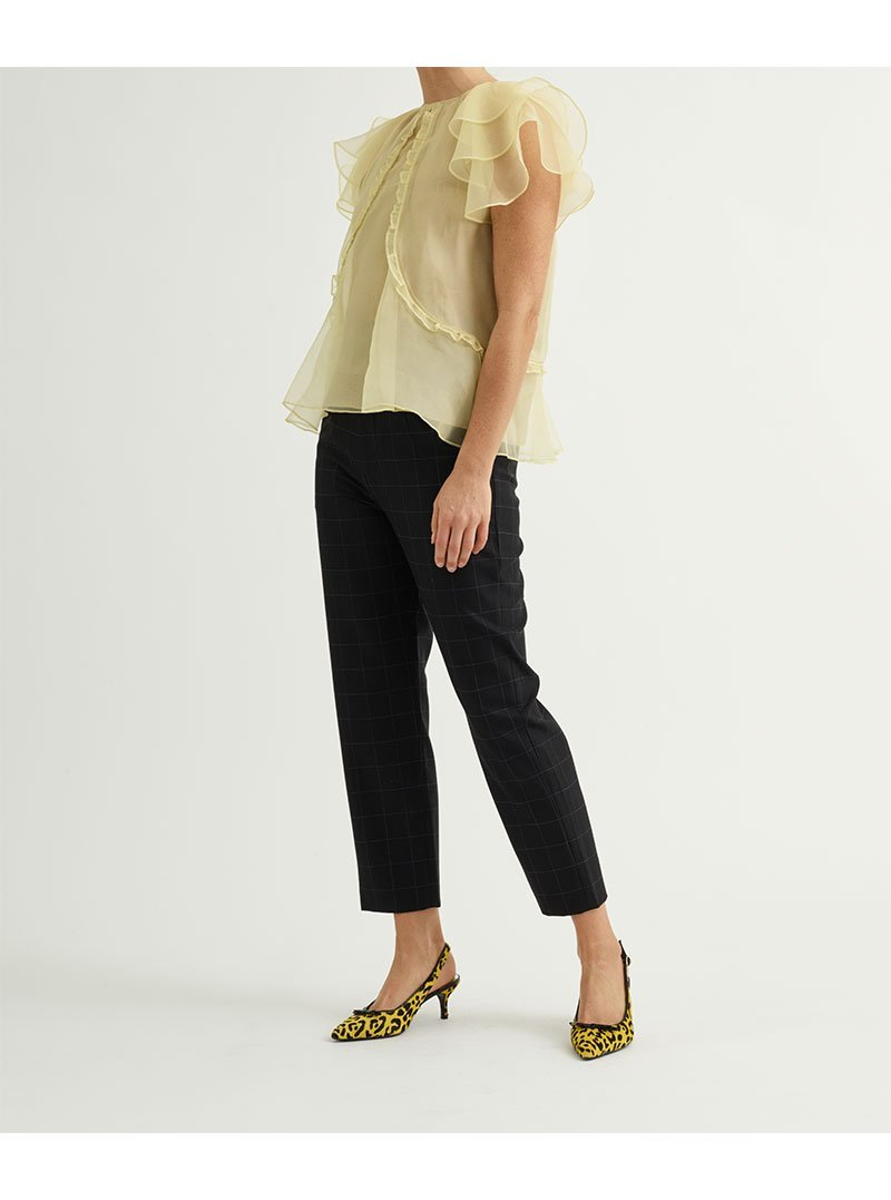Custommade, Othilia ny Numbers Blouse, Sun Light, 36S