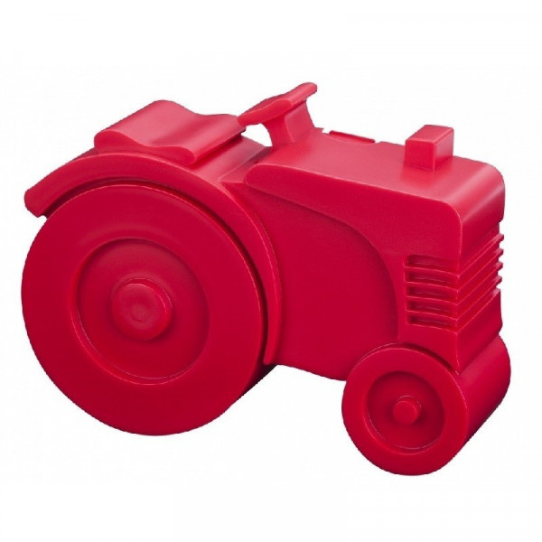 BLA FRE, lunchbox 20x16x6 tractor, Red