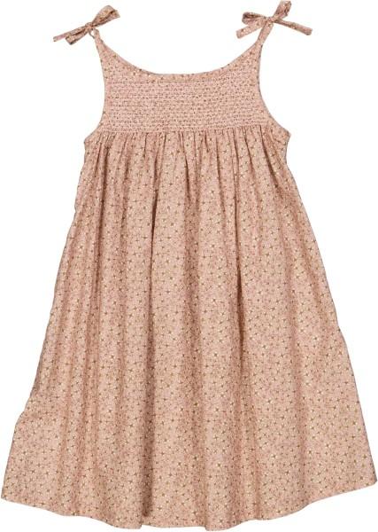 Wheat, Dress Elise, Misty Rose Flower (98-128)