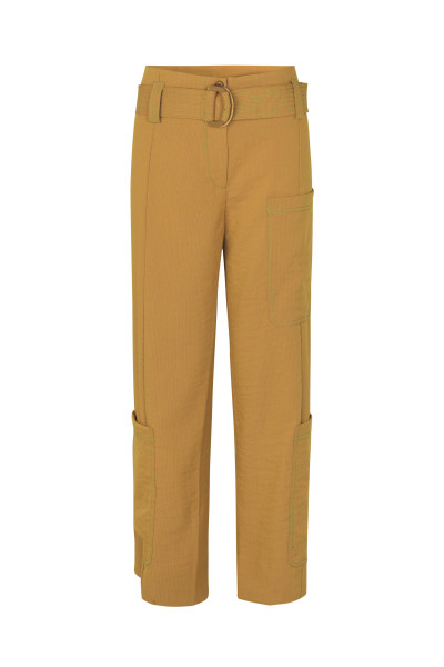 STINE GOYA Roman Pants, Golden Brown