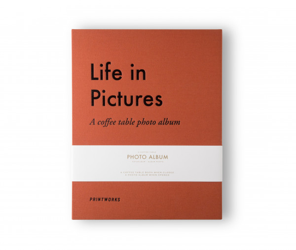 PrintWorks - Photo Album - Life in Pictures (L)