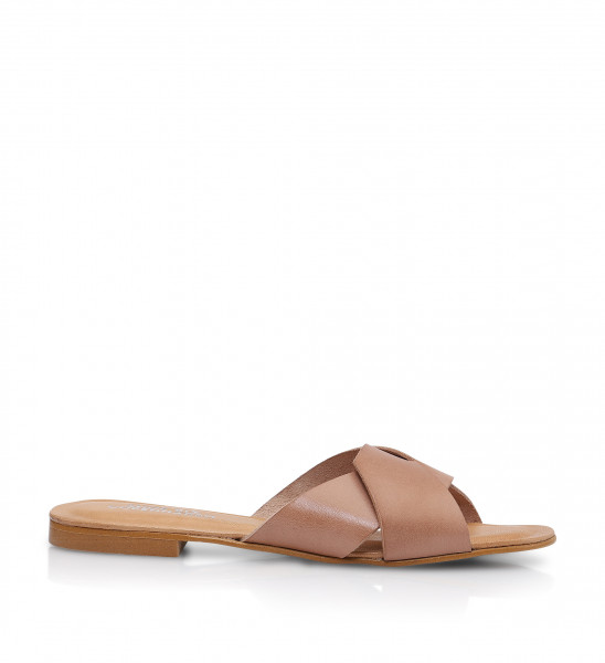 Shoe Biz, Sage Vaqueta, Nude