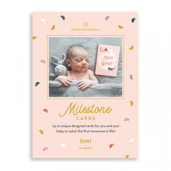 Timi of Sweden, Milestone Cards, 24 Cards