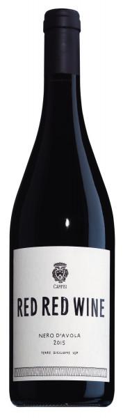,Red Red Wine' Nero d'Avola, Terre Siciliane IGP 2016, Bio