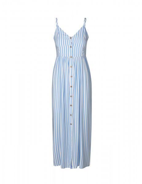 MbyM, Pinny Dress, Blue Bell Stripe
