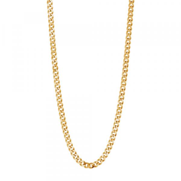 "Nordahl, Halskette ""PANZER52"", Silber vergoldet, 50mm"