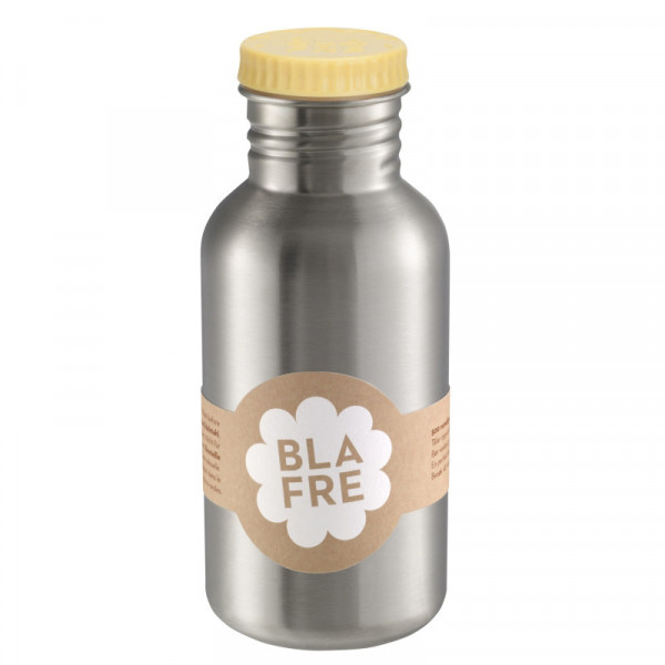 BLA FRE, Steel bottle, Light Yellow, 500 ml