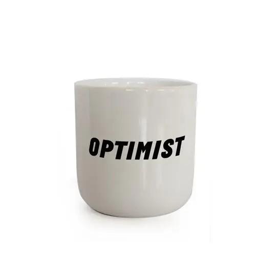 PLTY, OPTIMIST Mug