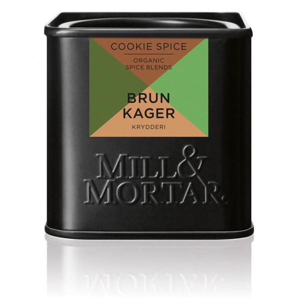 Brunkager Cookie Spice, ØKO, 50 g
