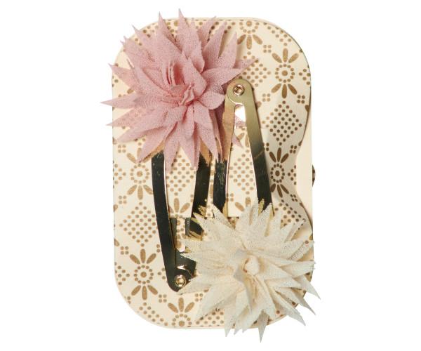 Maileg, Dahlia Flower Clips, Vanilla Melon