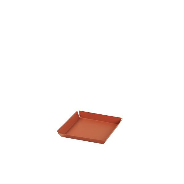 """Broste Copenhagen, Tablett """"Erika"""" klein, Pumpkin Orange"""