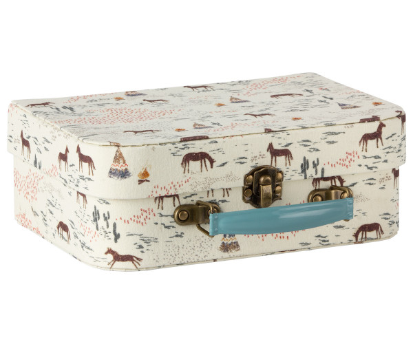 Maileg, Suitcase with fabric, 2pcs