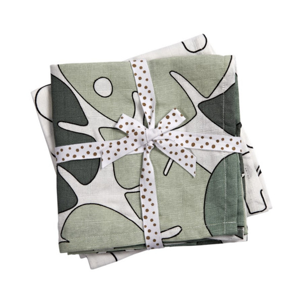 """Done By Deer """"Swaddle"""" 2-Pack, Tiny tropics"""