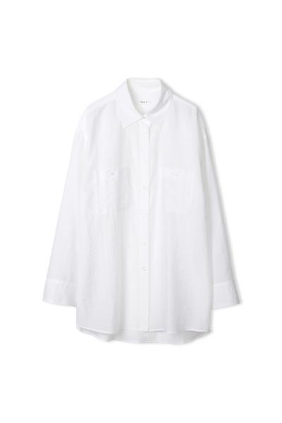 Filippa K, Sandie Shirt, Coconut White