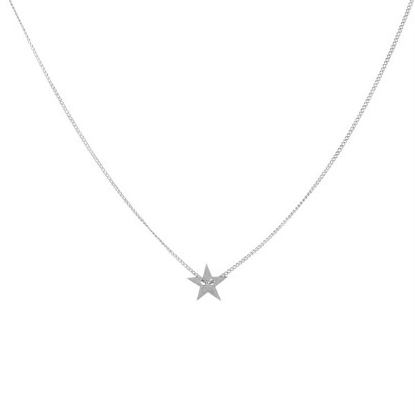 Little Star Necklace in Silber