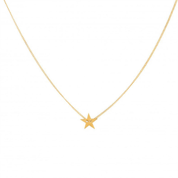 Little Star Necklace in Gold