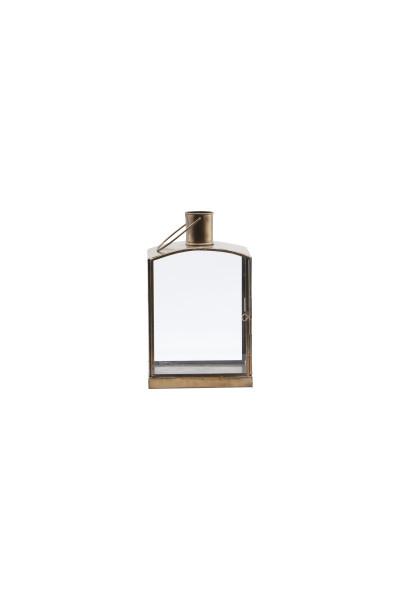 House Doctor, Lantern, Origi, Brass Antique, 16,5x11x27