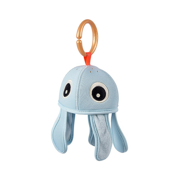 "Done by Deer ""Bath time activity toy"" Sea Friends Blue"