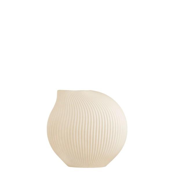 Lerbäck - beige Vase