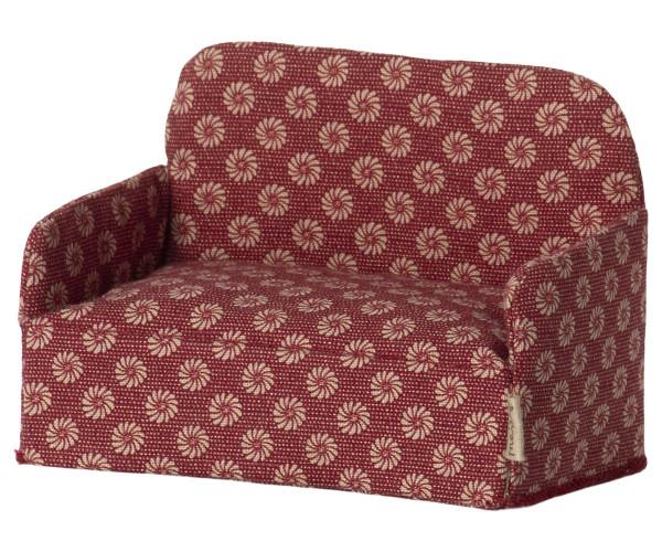 Maileg, Sofa für Mäuse - rot
