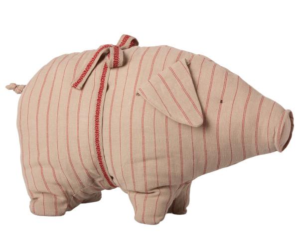Maileg, Pig with Stribes, Medium