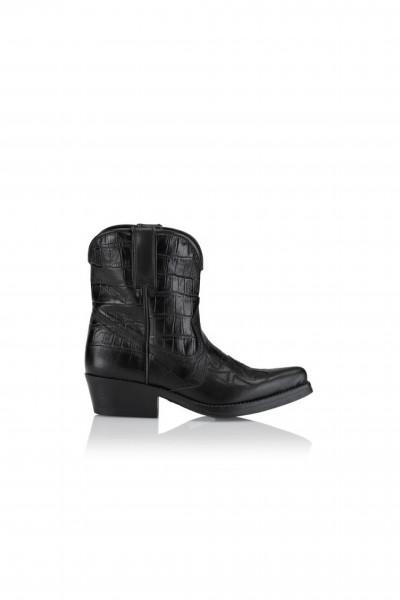 Shoe Biz Copenhagen, Kalia Cowboy Boots, Black