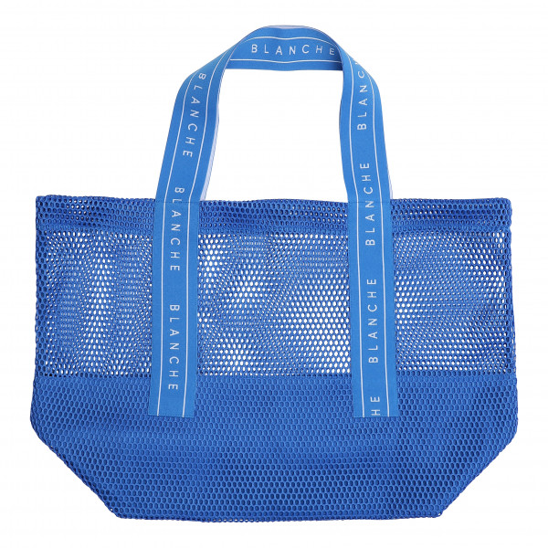 BLANCHE, Tote Logo Bag, Blue