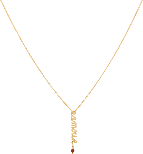 Anna+Nina, Amour Necklace, Gold