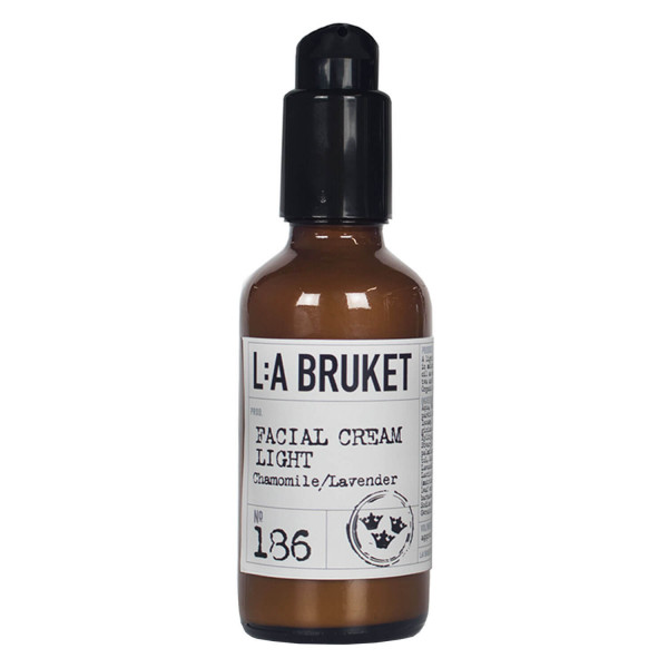 LA Bruket 186 Facial Cream Light, Chamomile/ Lavender 50ml