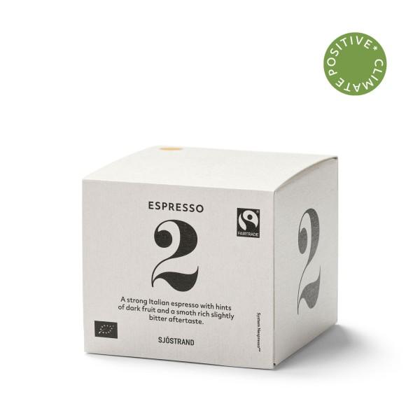 Sjöstrand, N°2 Espresso (10 Kapseln)