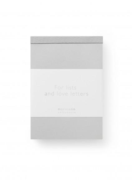 Normann, Paper Pad 3 Pcs Silver Grey