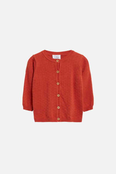 Hust&Claire, Cammi Cardigan, Spicy Red
