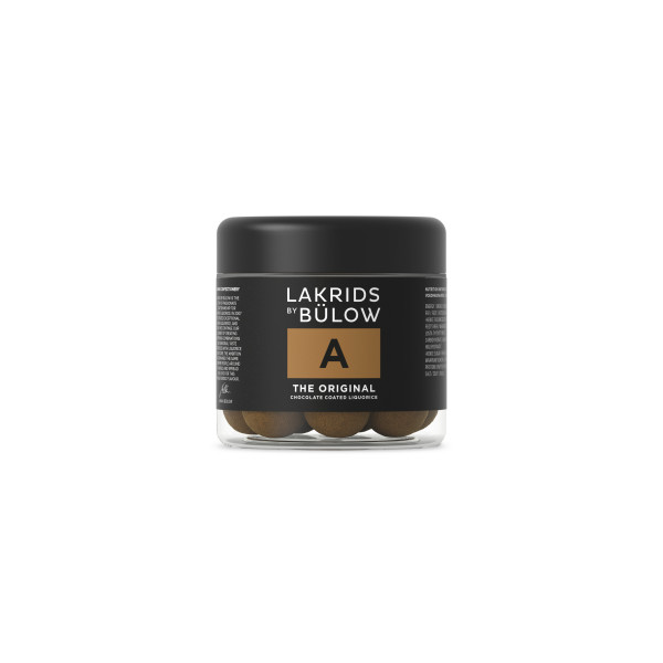 "Lakrids by Bülow, ""A"" Choco Coated 125g"