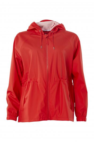 Rains, W Jacket, Red