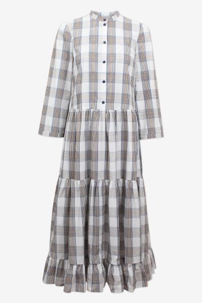 Baum und Pferdgarten, Alexine Dress, Cream Navy Brown