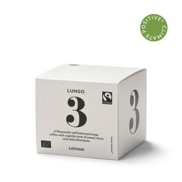 Sjöstrand, N°3 Lungo (10 Kapseln)