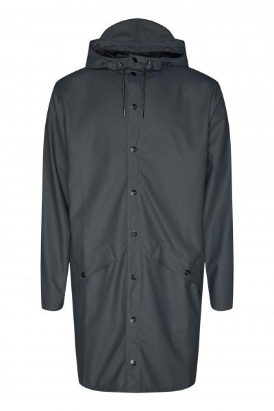 Rains, Long Jacket, Slate