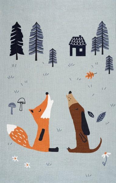 Scandic Living, Teppich Fuchs und Hund