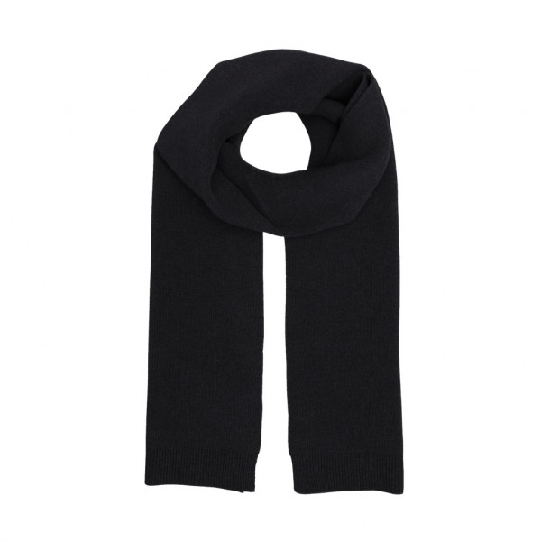 Merino Wool Scarf, Black