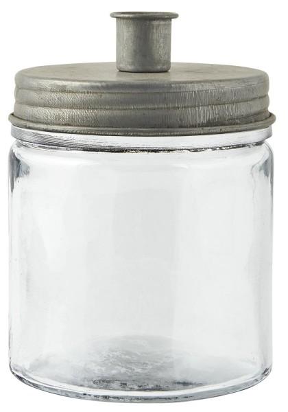 Ib Laursen, Kerzenhalter für Stabkerzen mit Metalldeckel