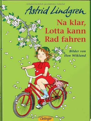 Lotta kann Rad fahren
