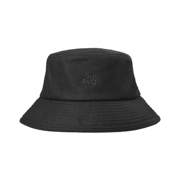 Sui Ava, Posh Bucket Hat, Black