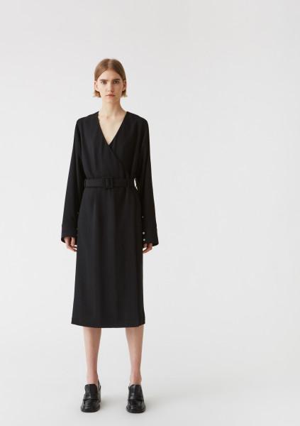 HOPE, Slash Dress, Black
